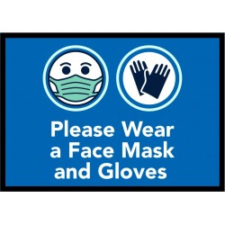 Please Wear a Face Mask and...
